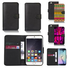 pu leather wallet case cover for many mobiles design ref q213