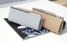 Crystal Rhinestone Evening Clutch Bag Handbag Shoulder Purse Wallet Box Tote 095