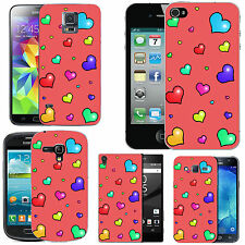 motif case cover for many Mobile phones - blush many lots hearts