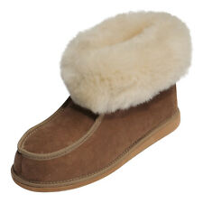 Lambswool Slippers Adam beige Moccasin Slippers Fur shoes Sheepskin Sheepskin