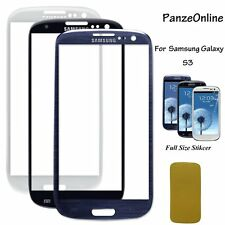 Front Screen Glass Lens Replacement  For Samsung Galaxy S3 AT&T/Sprint/T-Moblie
