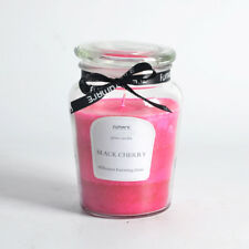 60 Hours 11x15cm  SCENTED PILLAR GLASS JAR CANDLE FUMAR 6 SCENTS AVAILABLE