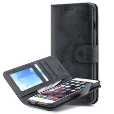 Card Holder Flip Wallet Magnetic Leather Case Cover For Apple iPhone 6 6S Plus