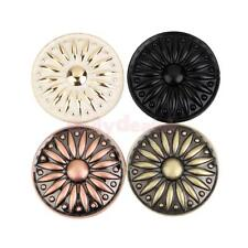 1x Vintage Round Knob Cabinet Drawer Door Pull Handle Retro Closet 4 Colors