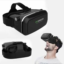 3D VR Box SHINECON Glasses Virtual Reality Headset Video Game For iPhone Samsung