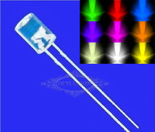 Flat Top 3mm/5mm Red Blue Green RGB Superbright Clear LED lamp Emitting Diode
