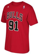"Dennis Rodman Chicago Bulls Adidas NBA ""Soul Swingman"" Player T-Shirt"