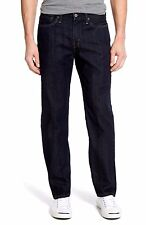 Claiborne Mens Jeans Straight Leg Rinse Cotton 5 pockets  sizes 30 34 36 40 NEW