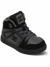 DC Grey-Black-Grey Rebound UL Toddlers Shoe
