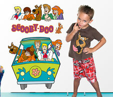 Scooby Doo Movable Wall Sticker Decal Easy Remove / Reuse Bedroom Nursery Decor
