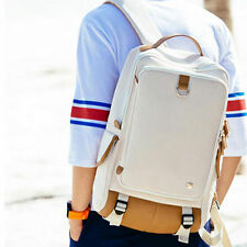 Large Leisure Laptop Canvas Shoulder Bag Male School Student Travel School Bags