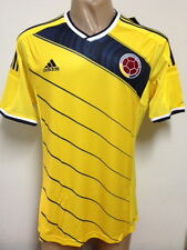 NEW !!! ORIGINAL WORLD CUP 2014 COLOMBIA HOME SOCCER JERSEY