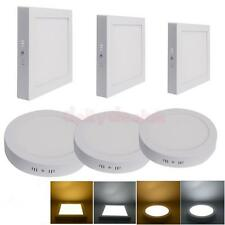 6W-24W Dimmable LED Recessed Down Panel Light Round Lamp Bulb Safe Warm White