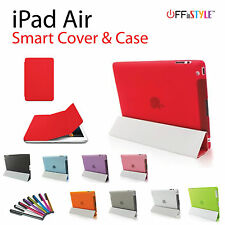 Foldable Smart Cover & Back Protective Case Designed For Apple iPad Air 1