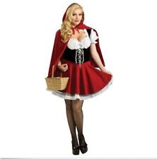 Sexy Plus Size Little Red Riding Hood Costume Adult Women Halloween Outfit S-6XL