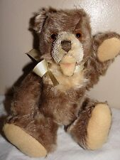 "Old Vintage 8"" German Zotty Open Mouth Teddy Bear Possibly Steiff"