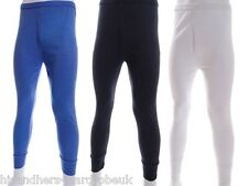 Mens Thermal Long Johns Bottom Trouser Men Underwear Long John Winter Warm