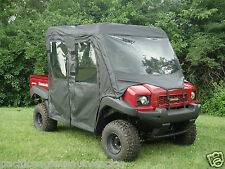 Full Cab Enclosure + Vinyl Windshield ~Kawasaki Mule TRANS 4000 / 4010  New  UTV