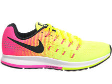 NEW WOMENS NIKE AIR ZOOM PEGASUS 33 RUNNING SHOES TRAINERS MULTI-COLOR / MULTI