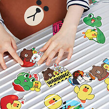 Korea Line Friends Characters  Point Deco Stickers Choose 1 or All of them