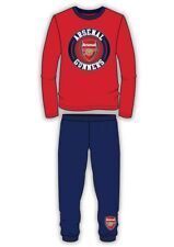 Boy's Official Arsenal FC The Gunners 1886 Long Cotton Pyjamas sizes from4 to12