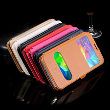 Fashion Stand Flip Wallet Leather Case Cover For Samsung Galaxy S5 i9600 Phone
