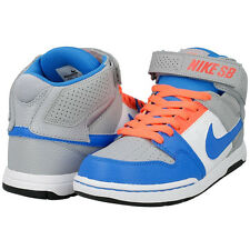 Junior Nike SB Mogan MID 2  645025 046 Grey Blue White 100% Authentic Brand New