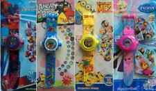 KIDS DIGITAL PROJECTION WATCH CHARACTER WRIST WATCH WITH IMAGES BRAND NEW