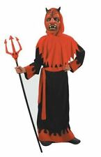 Boys Sinister Devil Halloween Fancy Dress Costume Outfit Satan Lucifer