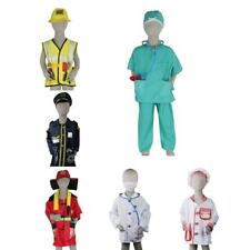 Children's Emergency Services Costume Fancy Dress up Halloween Party Supplies