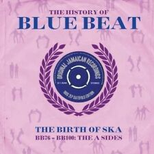 HISTORY OF BLUE BEAT: BIRTH OF SKA BB76-BB100 A SIDES Various Artists DOUBLE LP