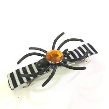 Halloween Party Women Girl Hair Accessory Barrettes Clips Spider USA Made NEW