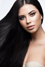 Virgin Weave/ Weft Human Hair Extensions 20 24 inch Wavy & Straight