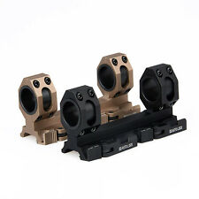 30mm/25.4mm Tactical Scopes Ring QD Mount Weaver/Picatinny 20mm Rail Mount New