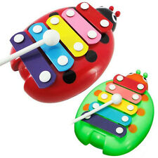 Useful 5-Note Xylophone Musical Beetle Toy Child Kids Wisdom Developmental Toys