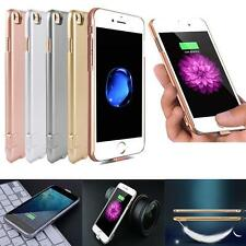 Ultra Slim External Power Battery Charger Bank Pack Case Cover For iPhone 7 Plus