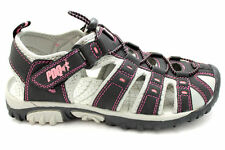 Womens Black Hiking Fitness Sports Sneakers Trainers Sandals Shoe Size UK 3-8