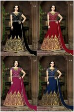 Indian Bollywood Designer Anarkali Suit Salwar Kameez Traditional Ethnic S 4810