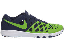 NEW MENS NIKE TRAIN SPEED 4 CROSS TRAINING SHOES TRAINERS ACTION GREEN / COLLEGE