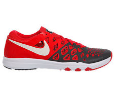 NEW MENS NIKE TRAIN SPEED 4 CROSS TRAINING SHOES TRAINERS UNIVERSITY RED / WHITE