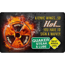 Quaker Steak & Lube® Gift Card $25 $50 or $100 - Email delivery