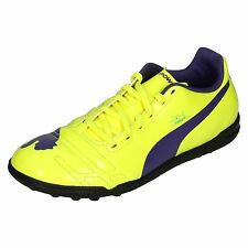 Boys Junior Puma Astro Turf Football Trainers Evo Power 4 TT Jr