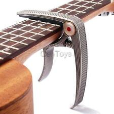 Capo Clamp for Acoustic & Electric Guitar and Ukulele-Quick Trigger Release