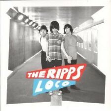 """RIPPS Loco 7"""" VINYL Red Vinyl B/W Too Much Too Young (Rid052) Pic Sleeve UK"""