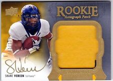 Shane Vereen 2011 UD Exquisite Rookie Auto Patch 81/135 SP Signed National Treas