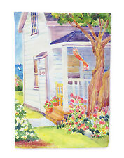 White Cottage House at the lake or Beach Flag