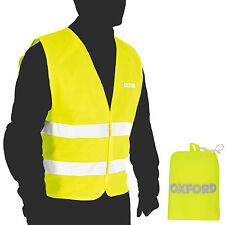 Oxford Products Pack Away High Visibility Bright Vest Breathable Waistcoat S-XL