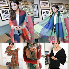 Fashion Women Long Cashmere Wool Scarf Wrap Ladies Shawl Girls Large Scarves Hot