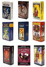 60 Variations of Tarot Card Deck Sealed New  English Instruction Booklet lot