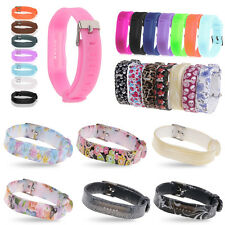 Replacement Wrist Strap With Metal Buckle For Fitbit Flex 1/2 Bracelet Wristband